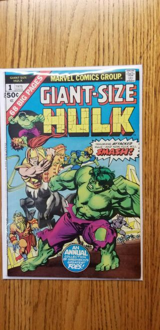 Giant - Size Incredible Hulk 1 Marvel Comics Bronze Age 7.  0