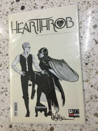 Heartthrob 1 Comic Book Variant Fleetwood Mac Rumours Cover Signed Filardi Oni