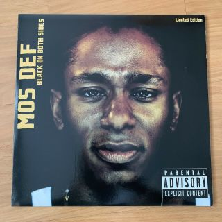 "Mos Def - Black On Both Sides Limited Edition Clear Vinyl / 12 "" Album"