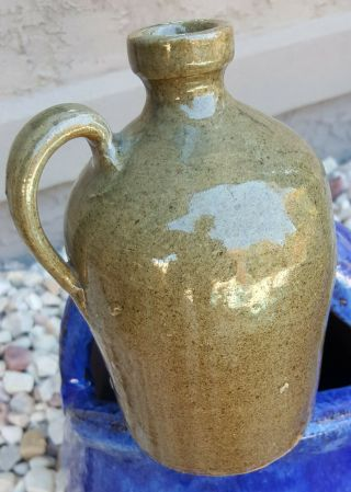 Edgefield Pottery Thomas Chandler Antique Southern Stoneware Rare