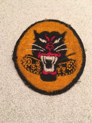 Vintage Ww2 Us Army Tank Destroyer Battalion Military Patch Rare