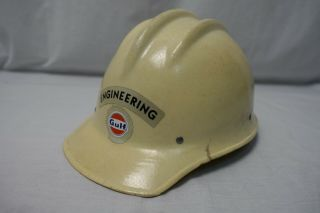 Vintage Bullard 502 Hard Hat Fiberglass Safety Helmet Hard Boiled
