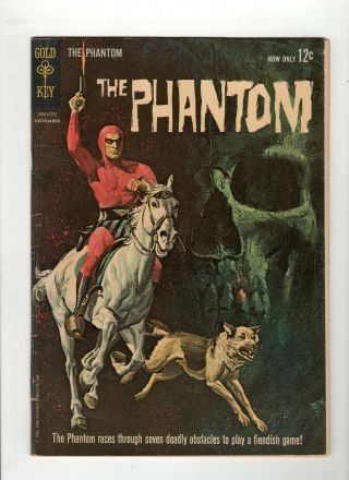 The Phantom 1 G/vg 3.  0 Off White Pages Gold Key
