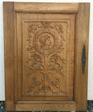 Big Antique French Furniture Door Early 1900
