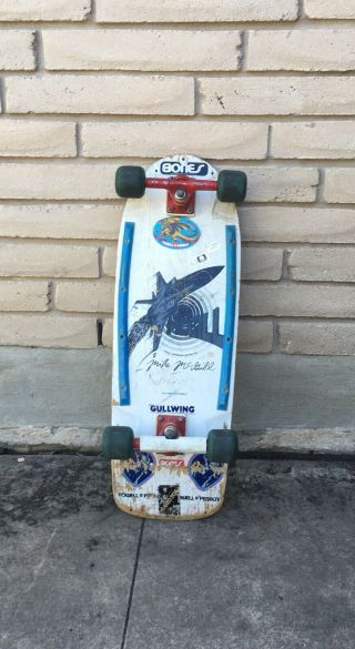 Vintage 1981 All Mike Mcgill Powell Peralta F - 14 Skateboard