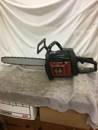 Vintage Poulan Pro Predator 335 Limited Addition Chain Saw