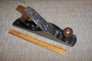 """Stanley Bailey 14 """" Jack Plane 5 Type 15 1931 - 32 Old Carpenter Woodworking Tool"""