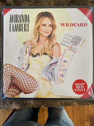Red Vinyl - - - - Miranda Lambert Wildcard Exclusive 2lp Tequila Does Bluebird 1104