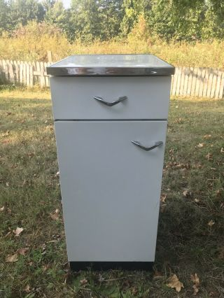 Vintage Metal Kitchen Cabinet