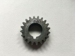 "South Bend 9 "" 10k Lathe 20 Tooth Stud Threading Change Gear"