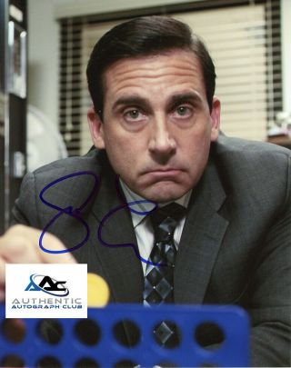 Steve Carell Autograph Signed 8x10 Photo The Office