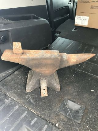 Vintage American Wrought 80lb.  Anvil