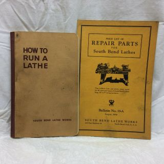 Vintage South Bend Lathe Booklets