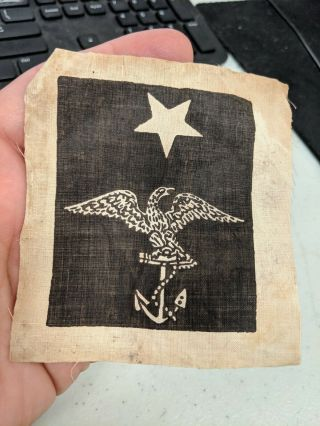 Civil War Era Us Navy Petty Officer Marks Rate