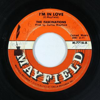 Northern/sweet Soul 45 - Fascinations - I