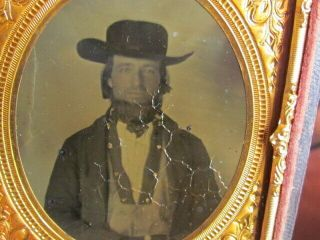 Possible Confederate Soldier Ambrotype Photographs