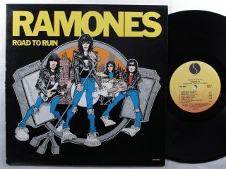 Ramones Road To Ruin Sire Lp Vg,