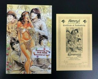 Cavewoman Jungle Tales 3,  Special Edition Budd Root Cover,  Cert 404