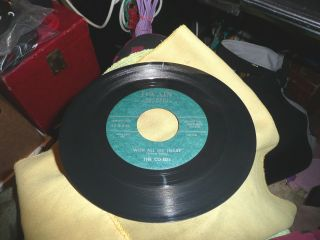 Rare Record 45 Teen The Co - Eds On Dwain With All My Heart / A Man Vg,