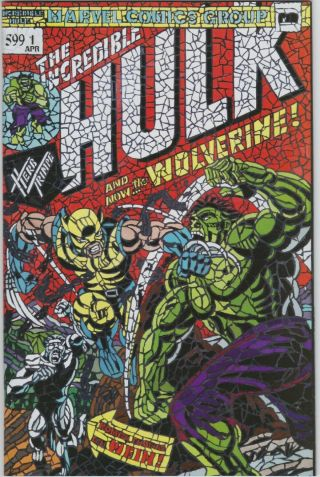 Incredible Hulk 181 Nm/m 9.  8 Shattered Variant 1st Appearance Of Wolverine