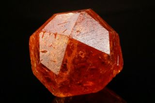 Large Orange Spessartine Garnet Crystal Loliondo,  Tanzania