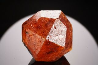 Orange Spessartine Garnet Crystal Loliondo,  Tanzania
