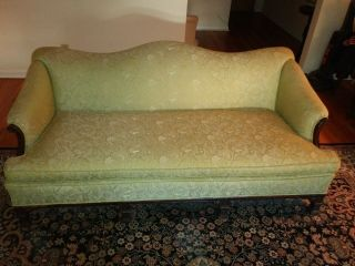 Antique Sofa And Chair - Chinese Chippendale