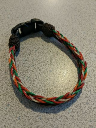 Hand Hitched Horse Hair Bracelet Montana State Prison Hand Made Collectable