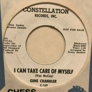 Northern Soul 45 Gene Chandler I Can Take Care Of Myself Constellation Listen