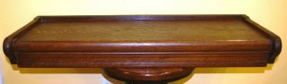 Antique Globe Macey Oak Sectional Barrister Lawyers Bookcase Top 34 X 13 5/8 X4