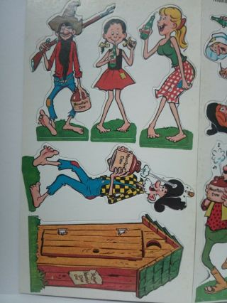 Rare Vintage 1965 Mountain Dew Hillbilly Characters