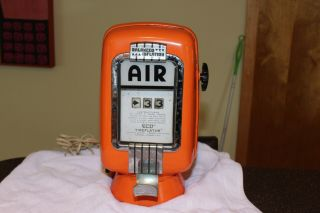 Eco Air Meter Tireflator Model 98 - Gas Station Advertising - Hot Rod Signs