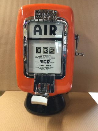 Eco Air Meter Tireflator,  Gas Station,  Signs,  Oil Cans,  Hot Rods,  Rat Rods,  Harley