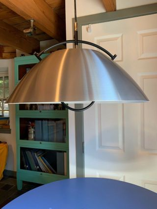 "Hans J.  Wegner For Pandul - "" The Pendant Lamp "" (l37) – Brushed Aluminum"