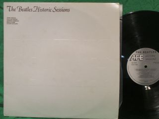The Beatles Historic Sessions Dbl Lp Uk Press