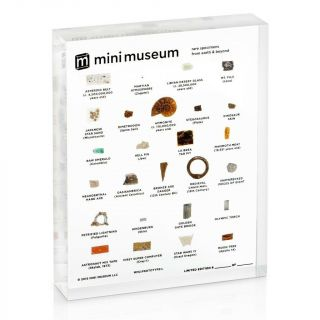 Mini Museum 2 Limited 2nd Edition - Large 26 Rare Specimens Hans Fex Kickstarter