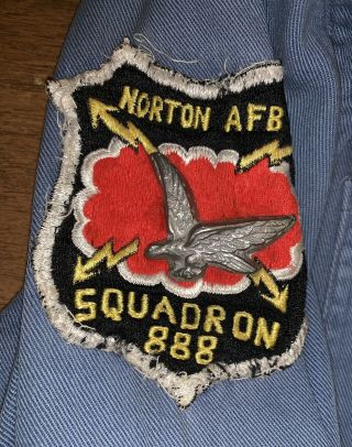 Boy Scout Air Explorers Squadron 888 Nortan Afb Air Scout Shirt With Pants