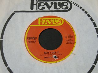 Godoy Colbert Baby I Like It / I Wanna Thank You Revue Xo Northern Soul 45