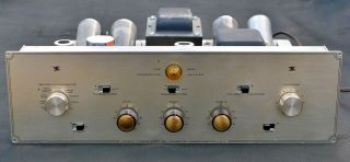 Vtg Hh Scott Type 99 B Mono 6l6 Tube Integrated Amplifier