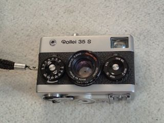 Vintage Rollei 35 S 35mm Range Finder Film Camera