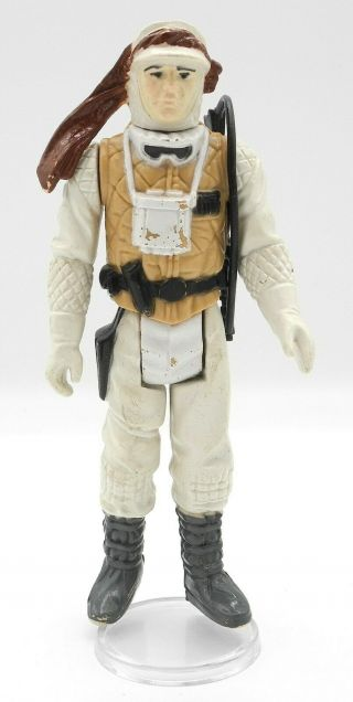 Star Wars Vintage Pbp Luke Hoth White Face Hard Body No Coo Scar Variant