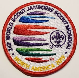 2019 World Jamboree Red Youth Participant Patch
