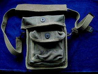 Wwii Us Army Korea/wwii Cryptograph Canvas Carrying Case M 209 - B (1943 -)