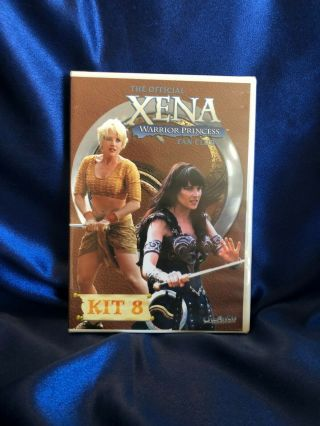 Ultra Rare Xena Lucy Lawless & Renee O