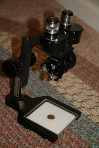 Vintage Bausch & Lomb Stereo Microscope.  10x - 30x