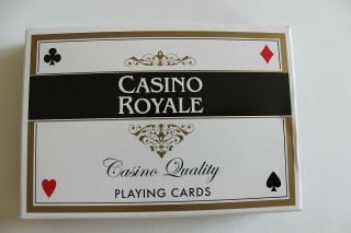 Casino Royale James Bond 007 Playing Cards Double Deck