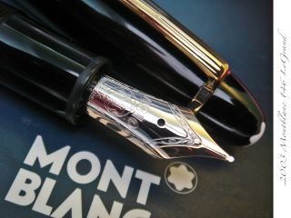 2003 Montblanc 146 Le Grand 14k Boxed Large Thick Rare Vintage Fountain Pen