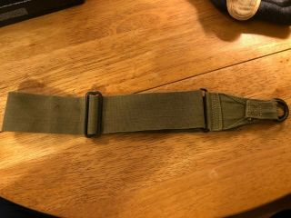 Us Ww Ii Strap M1936 Musette Bag Khaki Strap Is Dated Early War Issue