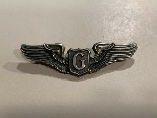 """Wwii Us Glider Pilots 3"""" Wings"""