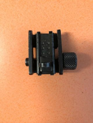 M - 1 M1 Carbine Rear Sight Marked Pmc